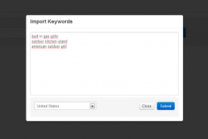 Keyword Revealer Import Keywords – Click on image to see full size.